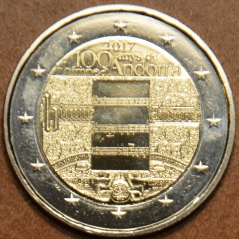 2 Euro Andorra 2017 - 100 years of the anthem (UNC)