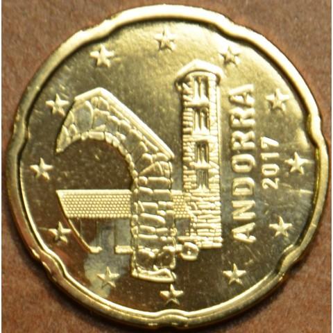 20 cent Andorra 2017 (UNC)