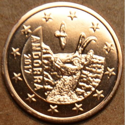 1 cent Andorra 2017 (UNC)
