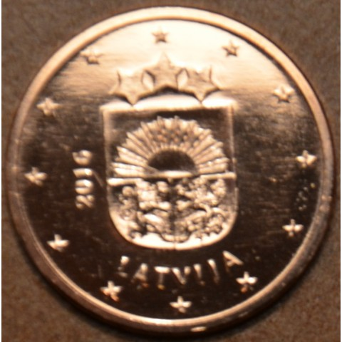 1 cent Lotyšsko 2016 (UNC)