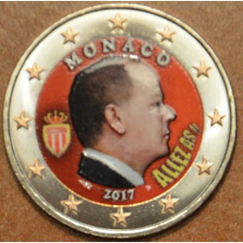 2 Euro Monaco 2017 (farebná UNC)