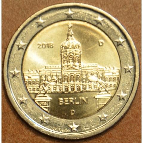 "2 Euro Nemecko ""D"" 2018 - Berlin:  Scharlottenburg (UNC)"