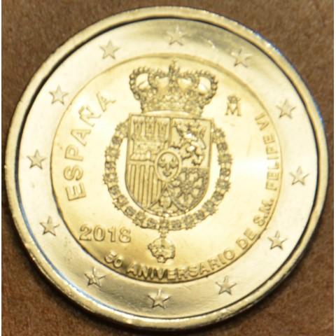 2 Euro Španielsko 2018 - Filip VI. (UNC)