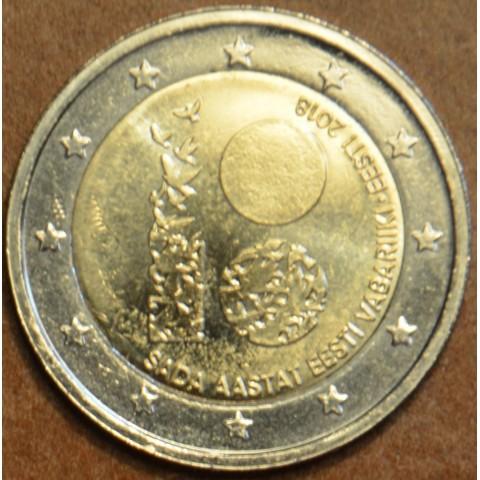 2 Euro Estónsko 2018 - Sté výročie nezávislosti Estónska (UNC)