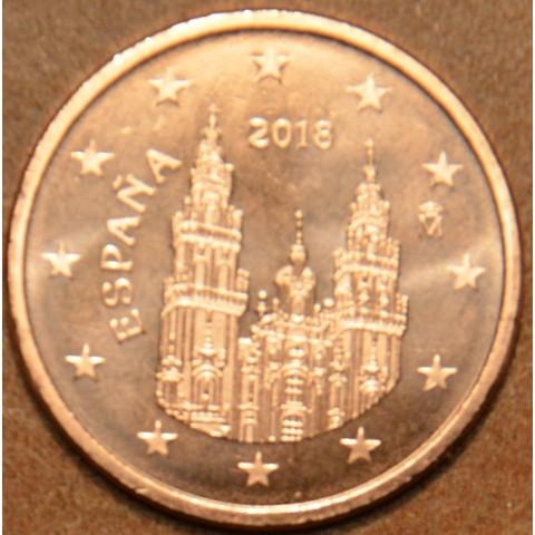 1 cent Španielsko 2018 (UNC)