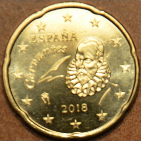 20 cent Španielsko 2018 (UNC)