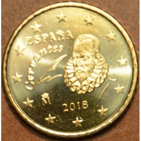 Euromince mince 50 cent Španielsko 2018 (UNC)