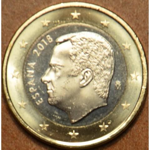 1 Euro Španielsko 2018 (UNC)