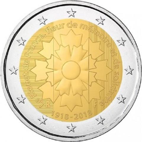 2 Euro Francúzsko 2018 - Le Bleuet de France (UNC)