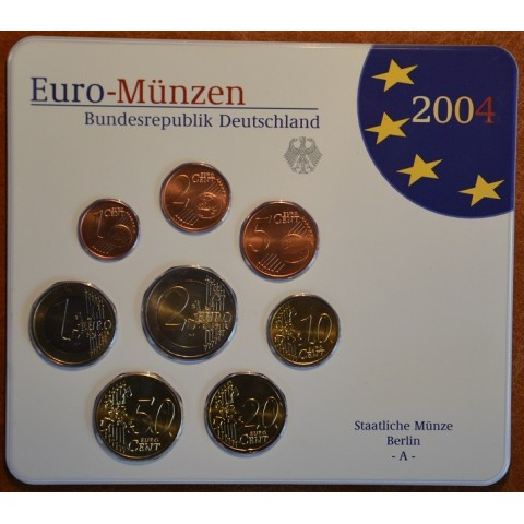 Sada 5x8 euromincí Nemecko 2004 (BU)