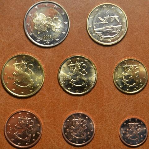 Sada 8 euromincí Fínsko 2016 (UNC)