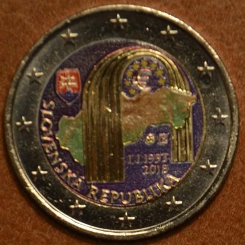 2 Euro Slovensko 2018 - 25. výročie vzniku VI. (farebná UNC)
