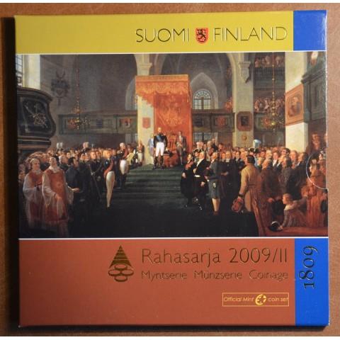 Sada 9 euromincí Fínsko 2009 II. (BU)