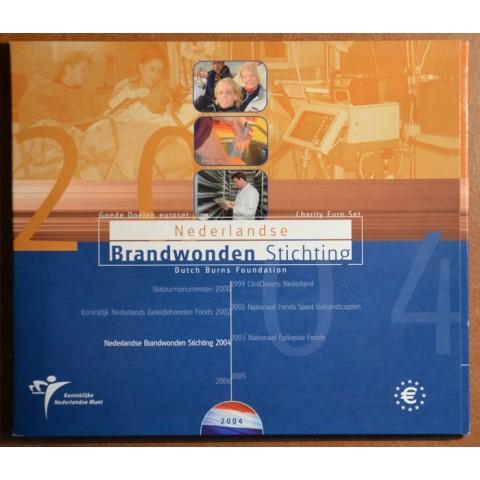 Sada 8 mincí Holandsko 2004 (BU)