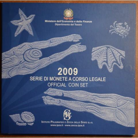 Sada 10 talianskych mincí 2009 (BU)