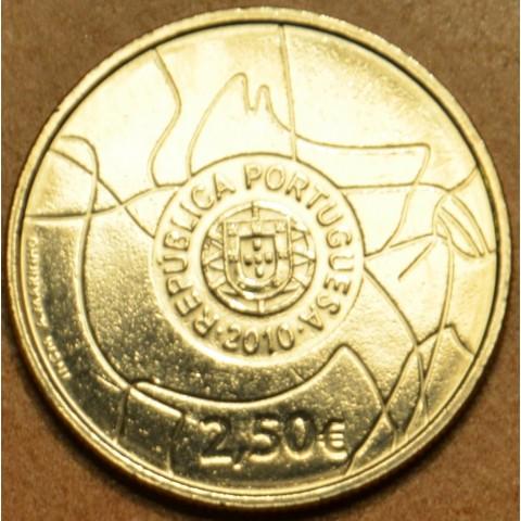 2,5 Euro Portugalsko 2010 - Torres Lines (UNC)