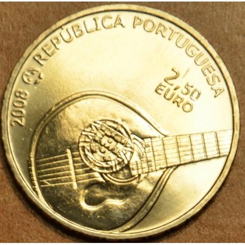 2,5 Euro Portugalsko 2008 - Fado (UNC)