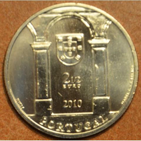 2,5 Euro Portugalsko 2010 - Terreiro do Paço (UNC)