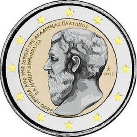 2 Euro Grécko 2013 - 2400 rokov Platónovej Akadémie (UNC)