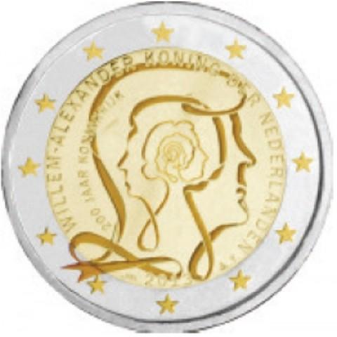 2 Euro Holandsko 2013 - 200 rokov kráľovstva (UNC)