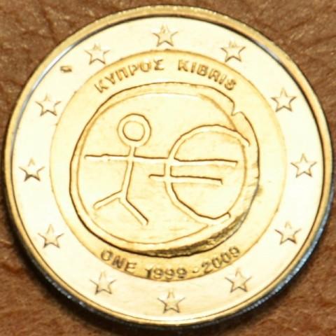 2 Euro Cyprus 2009 - 10. výročie hospodárskej a menovej únie  (UNC)