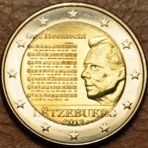 2 Euro Luxembursko 2013 - Národná hymna (UNC)