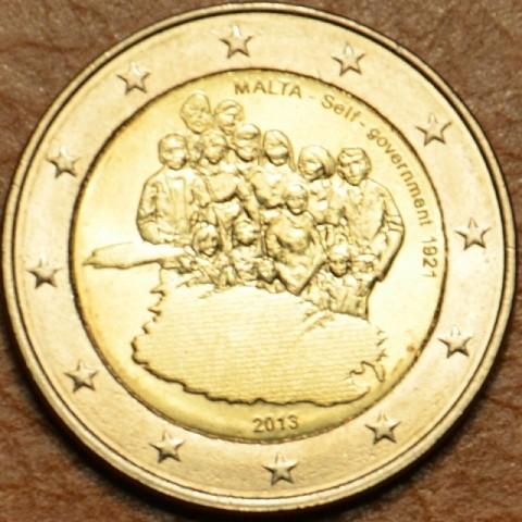 2 Euro Malta 2013 - Samostatnosť: vlastná vláda od 1921 (UNC)