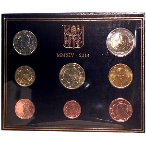 Sada 8 euromincí Vatikan 2014  (BU)
