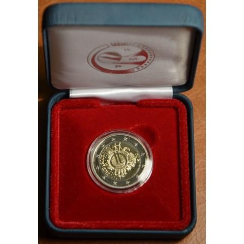 2 Euro Belgicko 2012 - 10. výročia vzniku Eura (Proof)