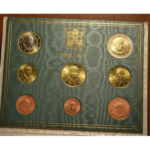 Sada 8 euromincí Vatikan 2010  (BU)