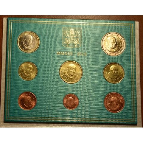 Sada 8 euromincí Vatikan 2013  (BU)