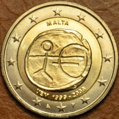 2 Euro Malta 2009 - 10. výročie hospodárskej a menovej únie  (UNC)
