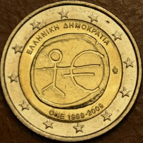 2 Euro Grécko 2009 - 10. výročie hospodárskej a menovej únie  (UNC)