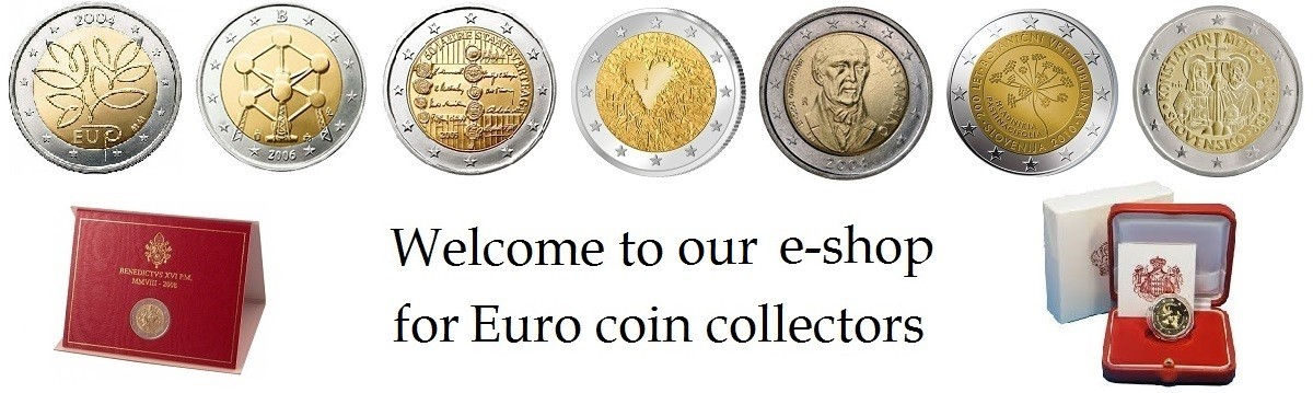 Welcome to our new e-shop of Euro coins